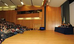 Foto: Reitor da UTAD, na Abertura do Ano Académico