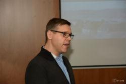 Foto: Mariusz Kowalewski em Seminário na UTAD
