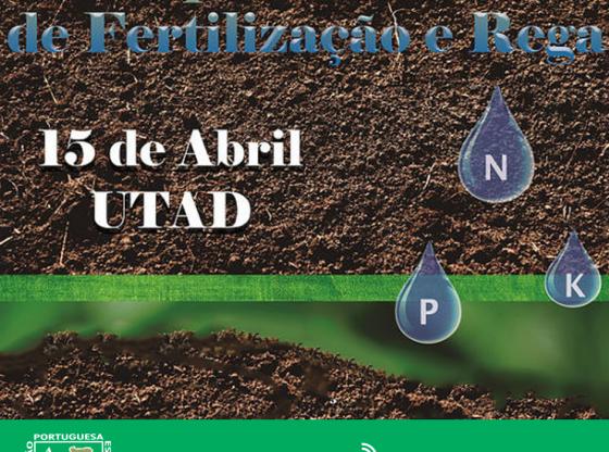 Cartaz: I Simpósio de Fertilização e Rega