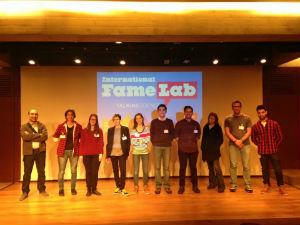 Foto: Estudante da UTAD é finalista do FameLab 2016