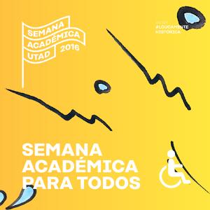 Cartaz: Semana Académica 2016 para Todos