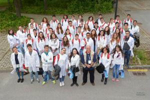 Foto: Olimpiadas Biologia foto de grupo