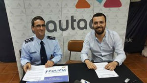 Foto: AAUTAD assina protocolo com Polícia de Vila Real