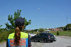 Foto: UTAD desenvolve projeto com drones para a PSP investigar acidentes rodoviários