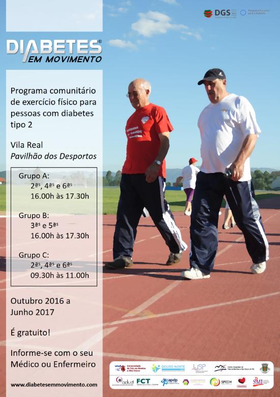 Cartaz: Diabetes em Movimento