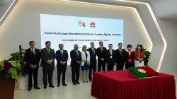 Foto: UTAD assina protocolo de academia de formação com a empresa Huawei