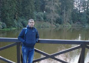 Foto: Investigador do CITAB