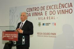 Foto: Primeiro-Ministro visitou o Centro de Excelência da Vinha e do Vinho em Vila Real