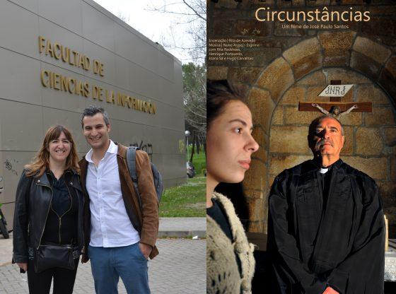Foto: José Paulo e cartaz do filme