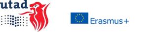 Logo: UTAD e Erasmus