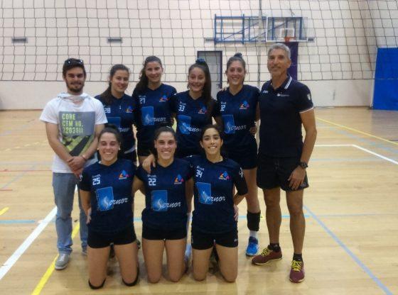 Foto: Equipa de voleibol