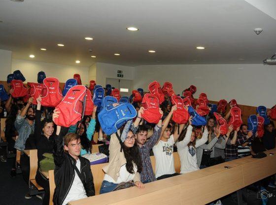 Foto: Estudantes ERASMUS