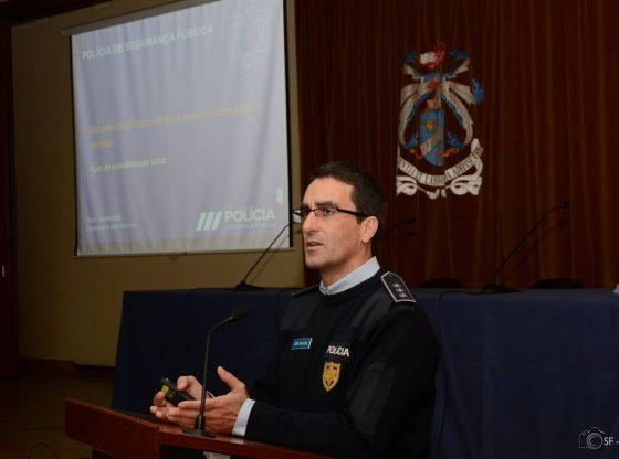 Foto: Comissário da PSP João Martins