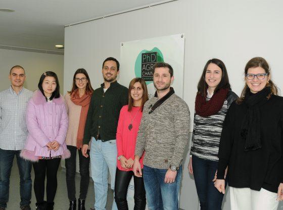 Foto: Novos doutorandos Agrichains