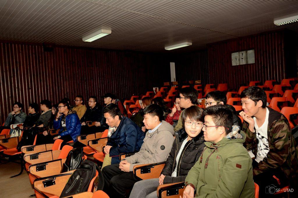 Foto: estudantes Chineses